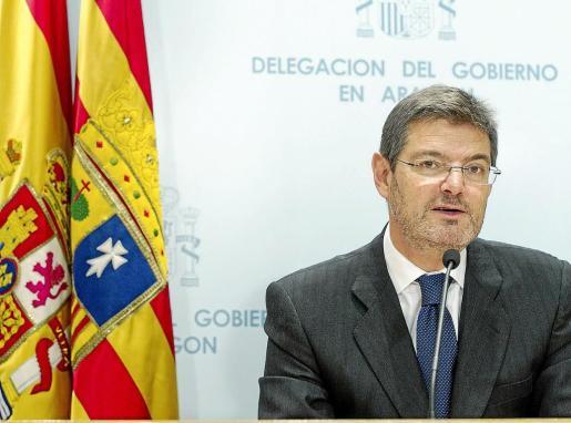 El secretario de Estado de Infraestructuras, Transporte y Vivienda, Rafael Catalá.