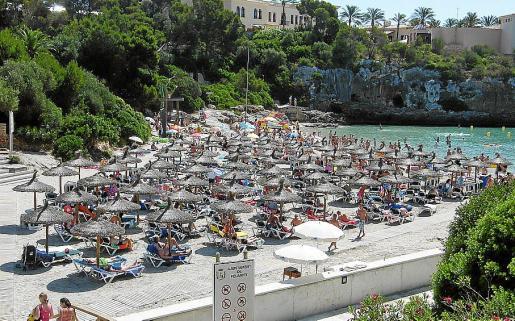 La playa de Cala Ferrera es una de las que sale a concurso en Felanitx.