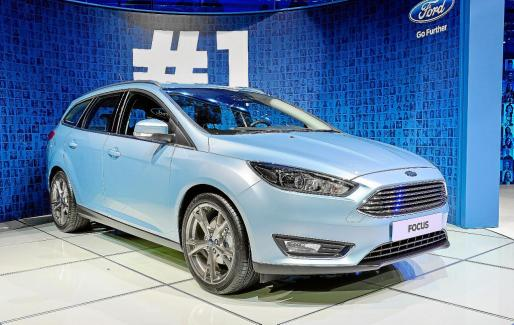 Ford Motor Company presenta el nuevo Focus que saldrá a la venta durante la segunda mitad de 2014.