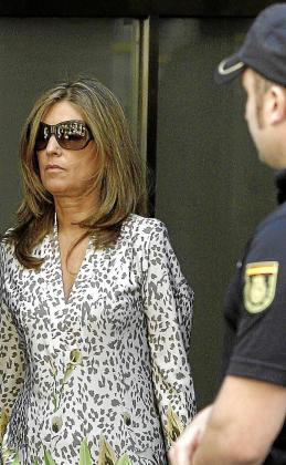 Rosalía Iglesias, mujer del extesorero del PP Luis Bárcenas.