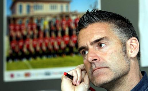 Lluís Carreras, entrenador del Mallorca.