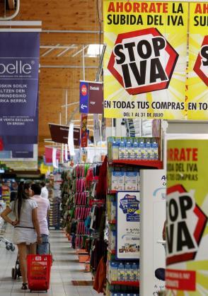 El IVA de productos que tienen el tipo superreducido podría subir.