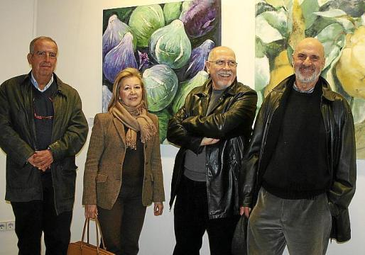 Francesc Bujosa, Beatriz Rosselló, Joan Vich y Juan Antonio Briñas.