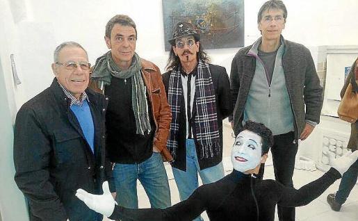 Bernat Trost, Pere Alemany, Jandro, Xisco Rubio y Tiburcio Manríquez.