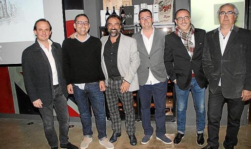 Vicente Tomás, Tolo Pomar, Toni Salvá, Generoso Cortés, Pedro Mesquida y Toni Darder.