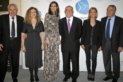 Juan Gelabert, Margalida Ramis, Cristina Macaya, Tomeu Catalá, Ana María Oliver y Bartomeu Estelrich.