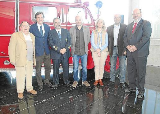 Joan Mateu, Mateo Isern, Manuel Nieto, Toni Verger, Irene San Gil, Antonio Donaire y Guillermo Navarro.