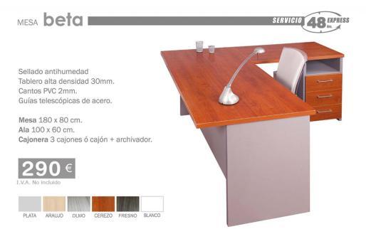 Modelo de mesa para despacho.