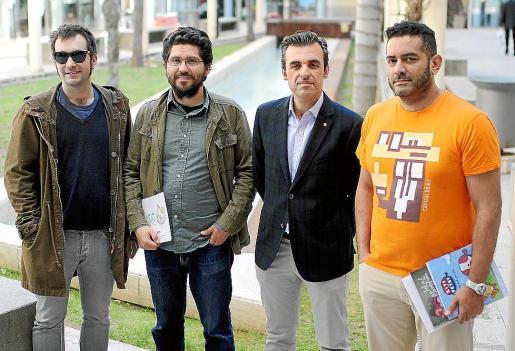 Gerard Armengol, Fran Bravo, Antoni Vera y Harold Jiménez Canizales.