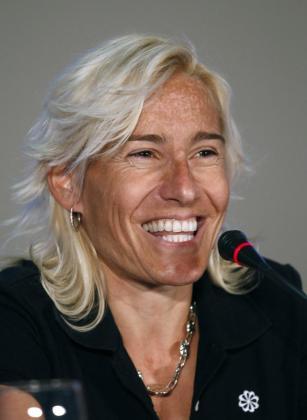 La atleta Marta Dominguez.