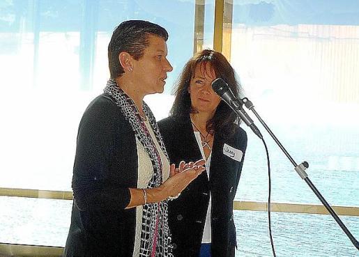 Carmen Serra, presidenta del Grup Serra, pronunció la conferencia de apertura de las jornadas.