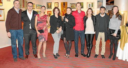 Jaume Mayol, Juan Carlos Enrique, Simone Santana, Apol·lònia Ordinas, Weronika Swiderska, Ken Miller, Gori Illescas, Maria Navalón y Susana Delgado.