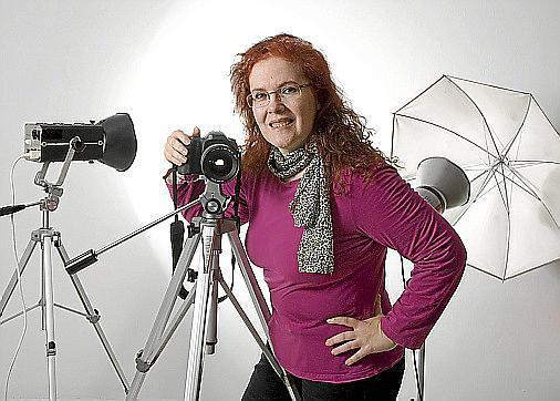 La fotógrafa Lina Adrover, directora de Foto Studio Artis.