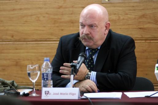 El periodista José María Íñigo, en una imagen de archivo.