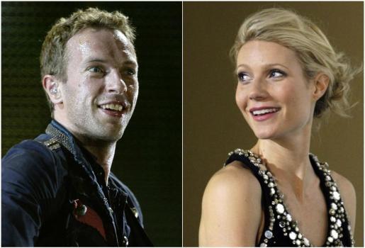 Chris Martin y Gwyneth Paltrow, en imágenes de archivo.