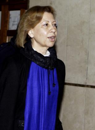 La expresidenta del Parlament María Antònia Munar (UM), a su llegada el pasado 11 de marzo a los Juzgados de Vía Alemania de Palma para declarar en relación con un presunto soborno en el caso Son Oms.
