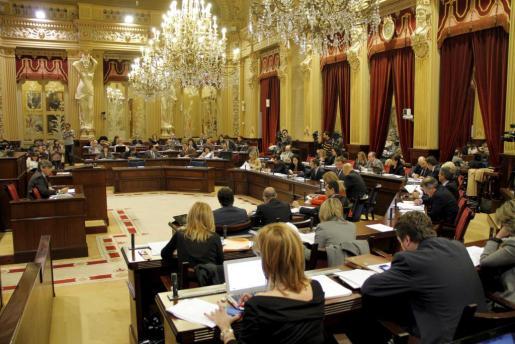 Imagen general del Parlament.