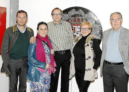 Tomás Vivot , Kika Coll, Xisco Canyelles, Margalida Riutort y Antonio Comas.