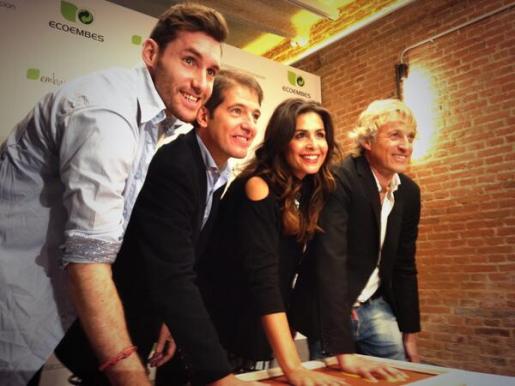 Rudy Fernández, Jesús Calleja y Nuria Roca, nuevos embajadores de Ecoembes.