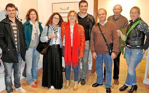 Sebàstien Scala, Margarita Campomar, Cristina Pizarro, Antònia Borràs, Tomeu Cifre, Fernando Perianes, Toni Jaume y Svenja Galle.
