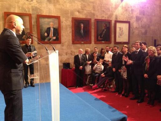 Xavi Torres ha recogido su premio Cornelius Atticus.