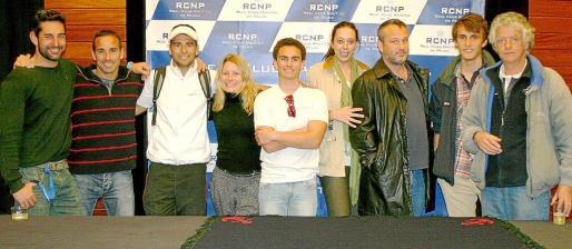Joan Company, David Abeledo, Jaime Tous, Noemi Barón, Pedro Bover, Ana Díaz, John Davis, Gustavo Daniels y Miguel Puigserver.
