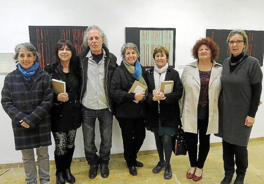 Paz Alomar, Carmina Fermoselle, Antonio Rigo, Rosa Maria Alberdí, Cristina Rotger, Charo Leyva y Karen Hees.