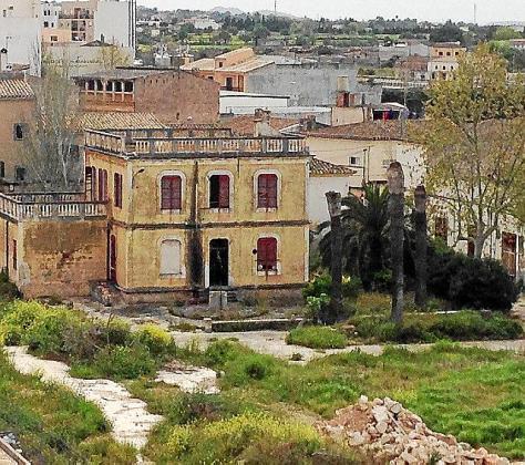 Imagen de la parte municipal del solar de Majorica.