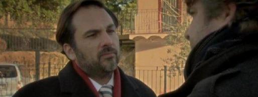 Alfonso Bayard, en una escena de la serie La Riera, de TV3.