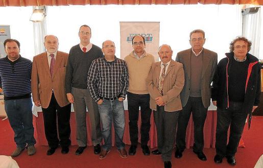 Miguel José Aniceto, Carlos Jori, Manuel Monedero, Juan Teruel, Antonio Bauzà, José María Jaén, Miguel Cabrer y Florián Talaya.