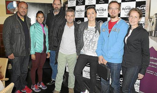 Rafael Carmona, María Pujol, Gonzalo Seijo, Miquel Payeras, Montse Peñarroya, Marc Ochudlo y Agnieszaka Pilawska.