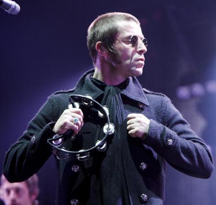 Liam Gallagher, durante una actuación en 2009.