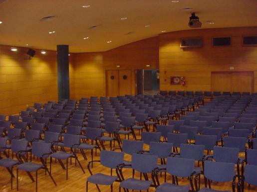 Patio de butacas de la sala Palmanova, en Calvià.