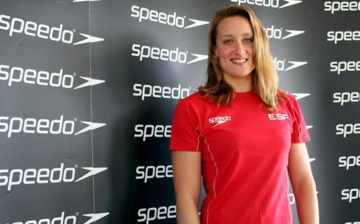 La nadadora Mireia Belmonte, en Palma.