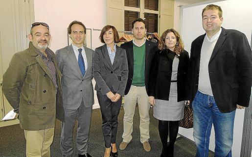 Alfonso Moll, Álvaro Gijón, Pilar Carbonell, Amador Garcías, Margaret Mercadal y Toni Pons.