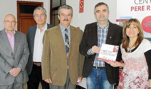 Ramón Rotger, Sebastián Galmés, Teodoro Pou, Toni Moreno y Antònia Oliver.