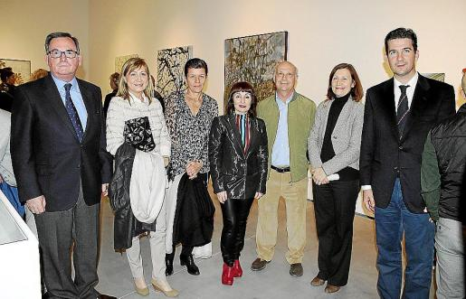 Francesc Fiol, Gudi Moragues, Carmen Serra, Nekane Aramburu, Catalina Sureda, José Ferrer.