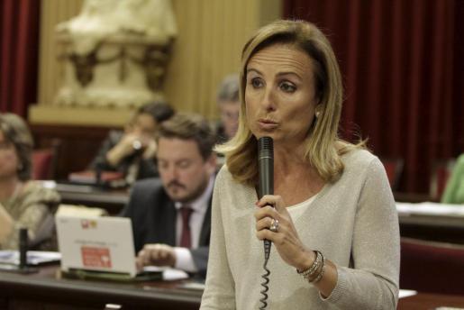 La portavoz del PP en el Parlament, Mabel Cabrer.