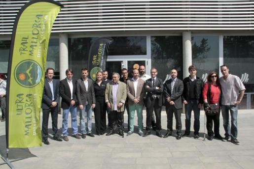 Imagen de la presentación de la Ultra Mallorca Serra de Tramuntana.