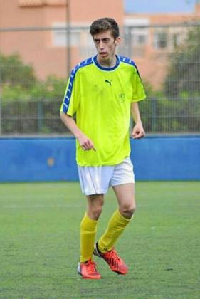 Andrés Estela, durante un entrenamiento.