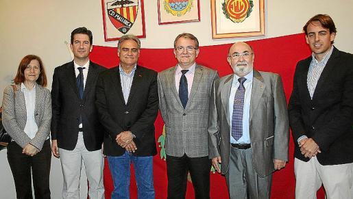 Catalina Sureda, Fernando Gilet, Jaume Cerdá, Joan Rotger, Paco Llabrés y Juan Carlos Ramonell.