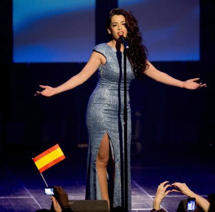 Ruth Lorenzo, representante española en el festival de Eurovision.