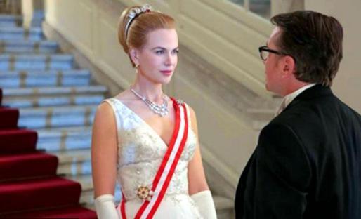 Nicole Kidman, en su papel de Grace de Mónaco.