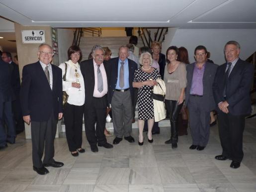 José María Sevilla, Silvia Windisch, Pere A. Serra, Josef Egger, Elphi Egger, Nanda Ramon y Llorenç Huguet.
