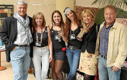 Pedro Ballester, Cati Parets, Cristina Ballester, Marina Oliver, Magdalena Escalas y Antonio Mesquida.