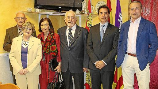Vicente Alba, Carmen Espinosa, Manuel Pérez, Constantino Cardo, César Nuño Pachecho e Ignacio Marbán.