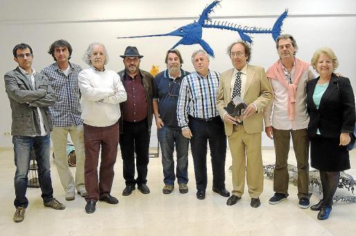 Miquel Ramón, Patrick Guino, Pep Roig, Lluís López, Eugenio Hoffman, Damià Ramis, Toni Sans, Toni Mandilego y Amelia García.