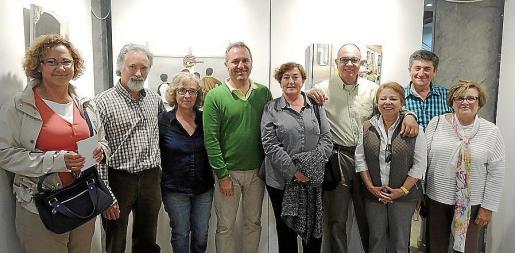 María Antonia Massanet, Alberto Ramírez, Amparo Lacorrea, Pep Bonnín, Francisca Nadal, Max Arratia, Marga Galmés, Tolo Ramis y Margarita Cardona.