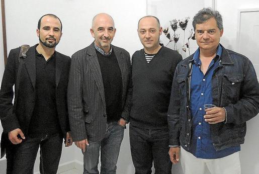 Alex Brahim, Joan Soler, Tomeu Simonet y Joan Vallespir.