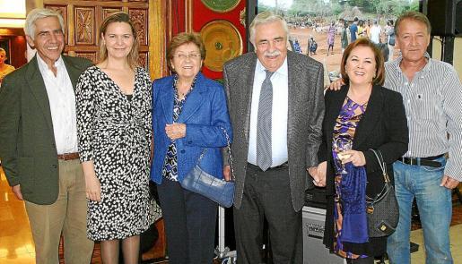 Pep España, María Salom, Margalida Magraner, Pere A. Serra, Carmen Dameto y Antoni Mesquida.
